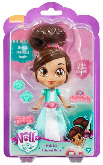 Nickelodeon Nella The Princess Knight Style Me Princess Nella 7-Inch Figure