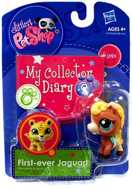 Littlest Pet Shop My Collector Diary Horse Figure #1629