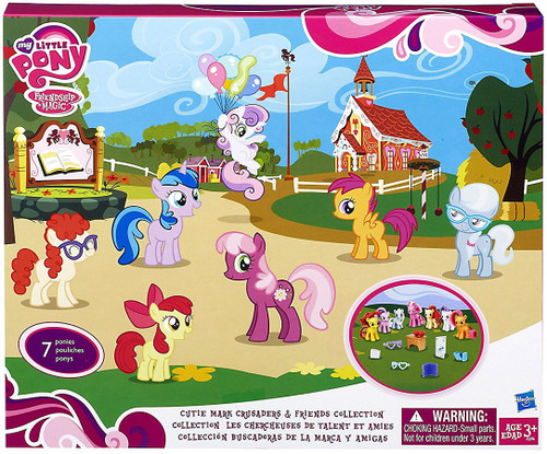 My Little Pony Friendship is Magic Exclusives Cutie Mark Crusaders Exclusive Figure Set