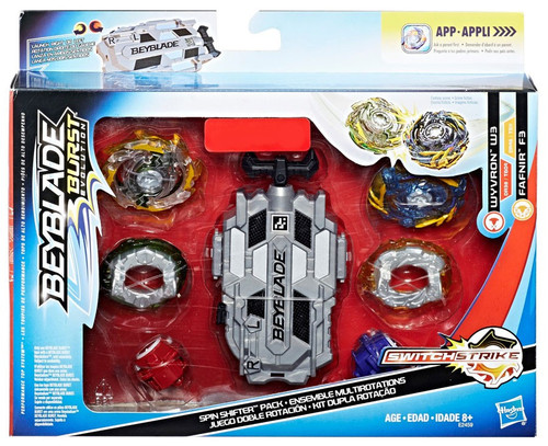 Beyblade Burst Evolution Spin Shifter Pack Exclusive Set [Wyvron W3 & Fafnir F3]