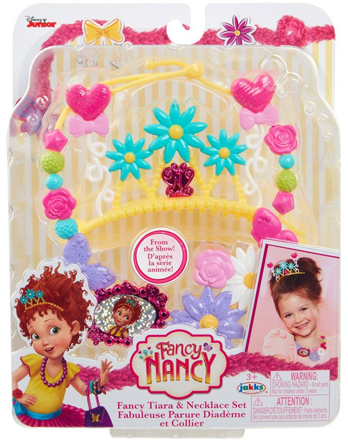 Disney Junior Fancy Nancy Fancy Tiara & Necklace Set