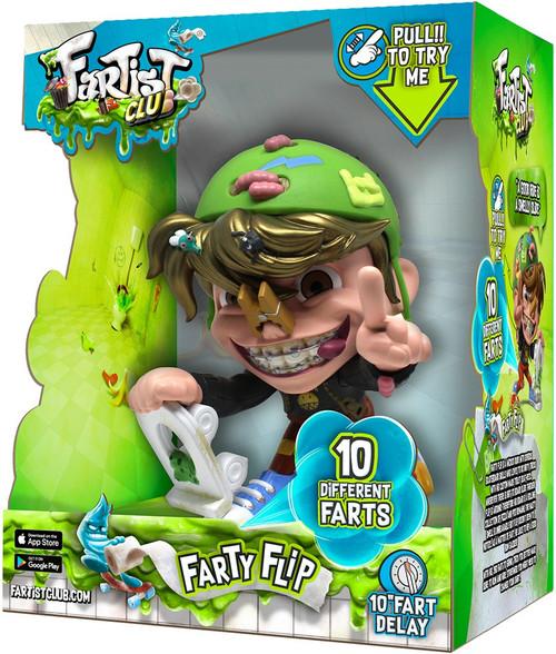 Fartist Club Farty Flip Action Figure