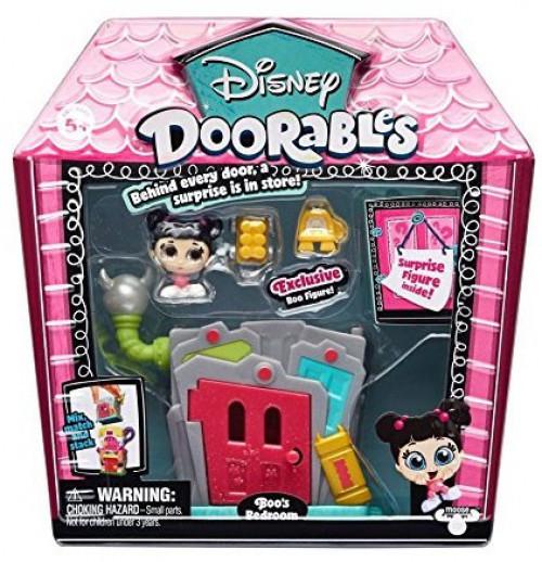 Disney Doorables X 5 mini Peek Figures Surprise Pack Set Playset S2 Série 2 NEUF