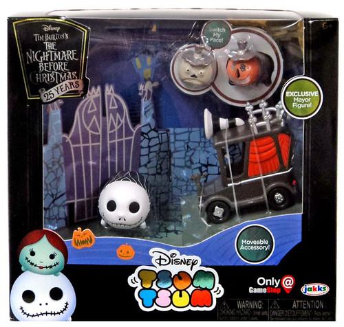 Disney The Nightmare Before Christmas 25th Anniversary Jack Skellington & Mayor Exclusive 1-Inch Minifigure Set