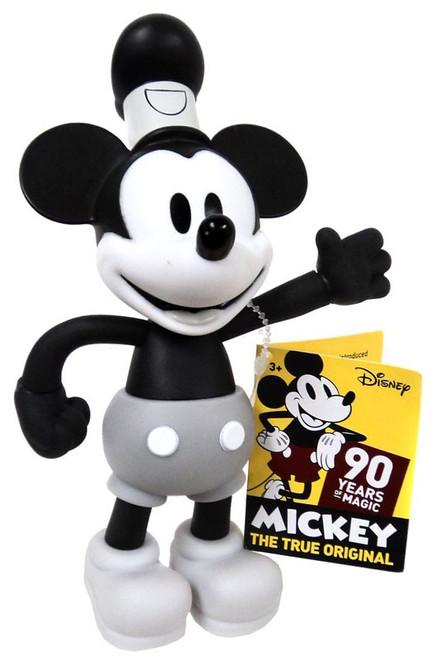 Disney Mickey the True Original 90 Years of Magic Steamboat Willie 6.5-Inch Figure