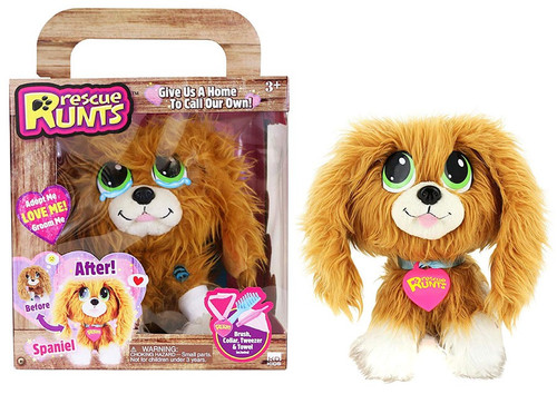 Rescue Runts Spaniel Plush Toy