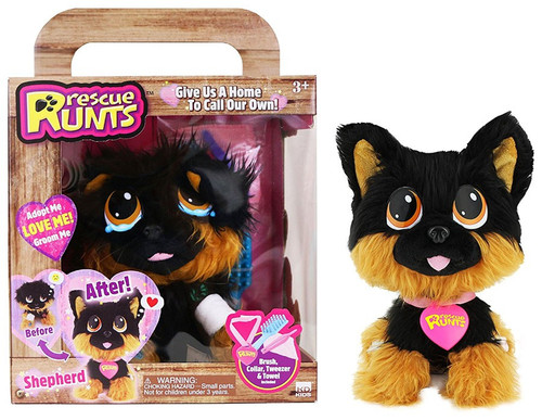 Rescue Runts Shepherd Plush Toy
