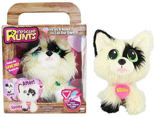 Rescue Runts Spotty Plush Toy