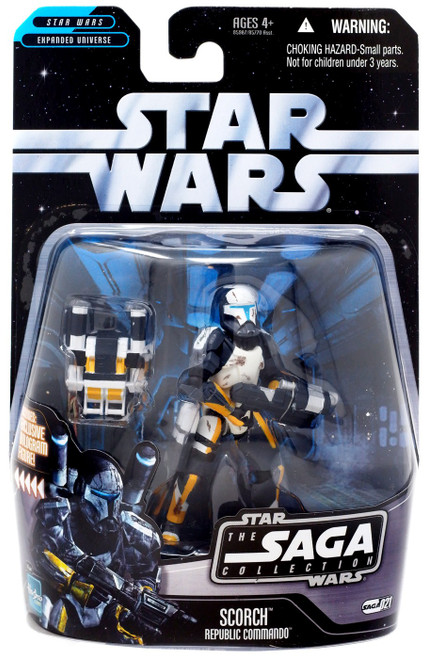 Star Wars Expanded Universe 2006 Saga Collection Scorch Action Figure #21 [Republic Commando]