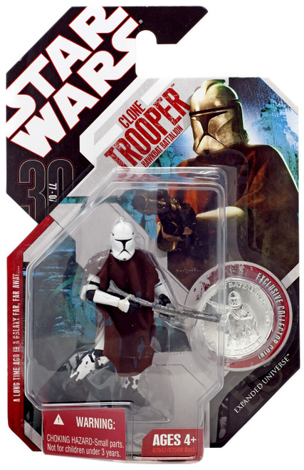 Star Wars Expanded Universe 30th Anniversary 2007 Wave 8 Clone Trooper Action Figure #50 [Hawkbat Battalion]