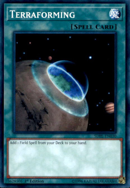 YuGiOh Powercode Link Structure Deck Common Terraforming SDPL-EN030