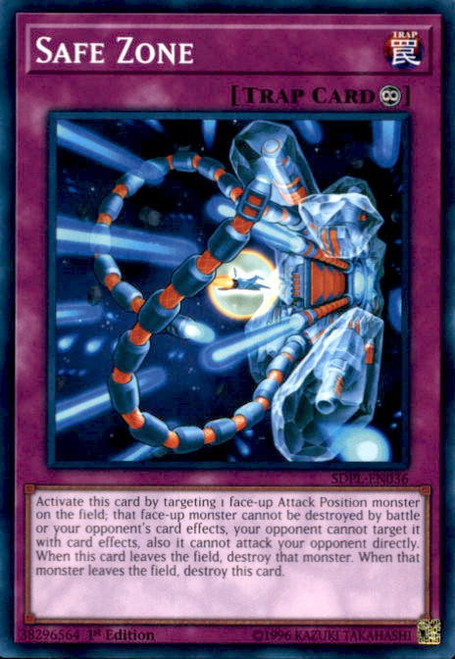 YuGiOh Powercode Link Structure Deck Common Safe Zone SDPL-EN036