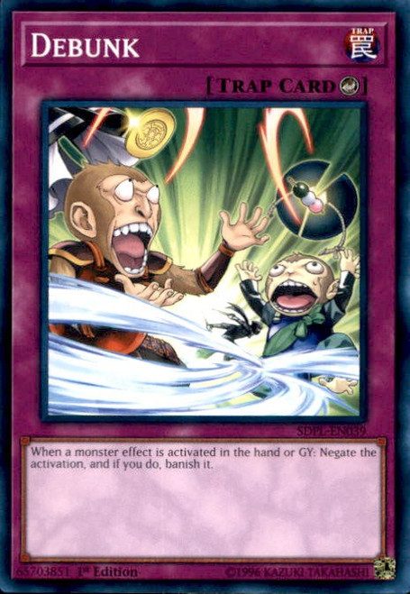 YuGiOh Powercode Link Structure Deck Common Debunk SDPL-EN039