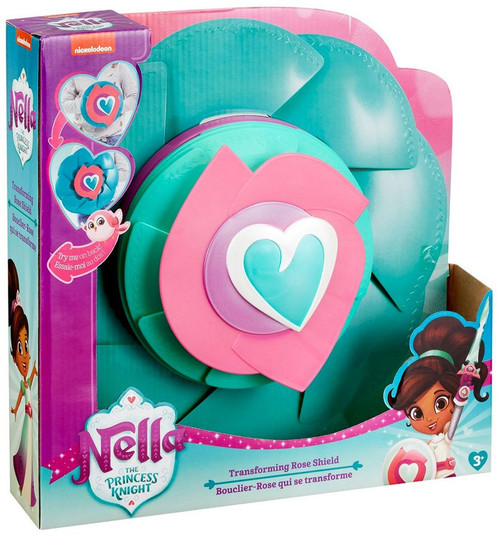 Nickelodeon Nella The Princess Knight Transforming Rose Shield Roleplay Toy