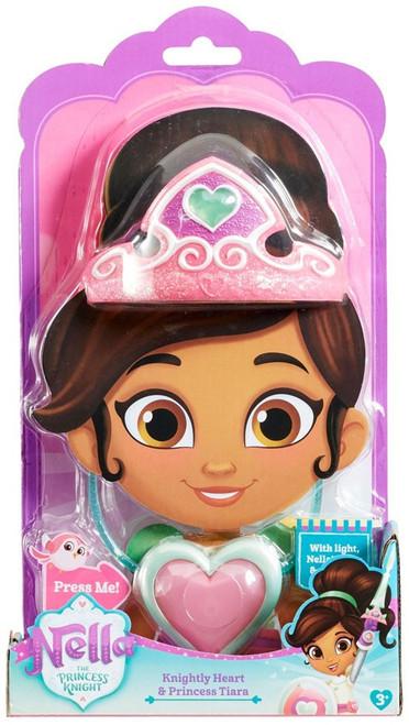 Nickelodeon Nella The Princess Knight Knightly Heart & Princess Tiara Roleplay Set