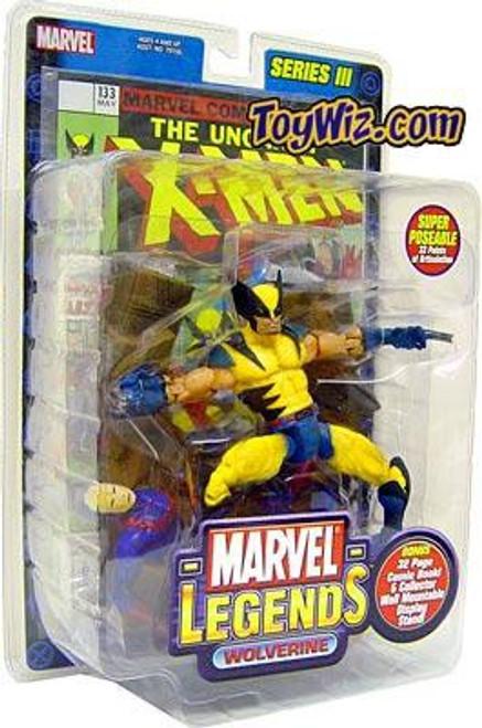 Marvel Legends Series 3 Wolverine Action Figure [Damaged Package]