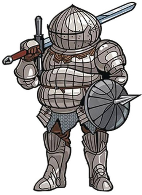 Dark Souls FiGPiN Siegmeyer of Catarina 3-Inch Collectible Pin
