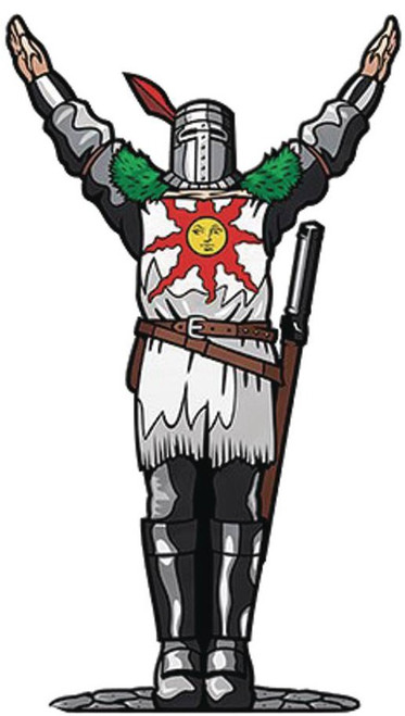 Dark Souls FiGPiN Solaire of Astora 3-Inch Collectible Pin