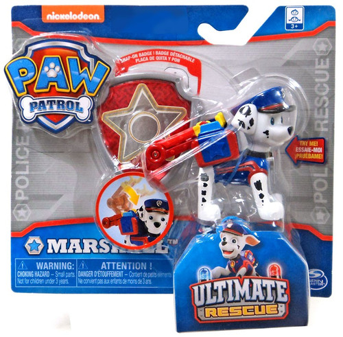 Paw Patrol Ultimate Rescue Marshall Exclusive Figure [Badge]