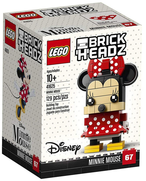 LEGO Disney Brick Headz Minnie Mouse Set #41625
