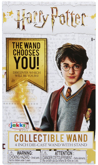 Harry Potter Diecast Series 1 Collectible Wand 4-Inch Mystery Pack
