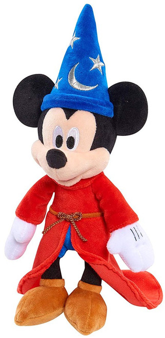 Disney Mickey the True Original 90 Years of Magic Sorcerer's Apprentice 9-Inch Plush