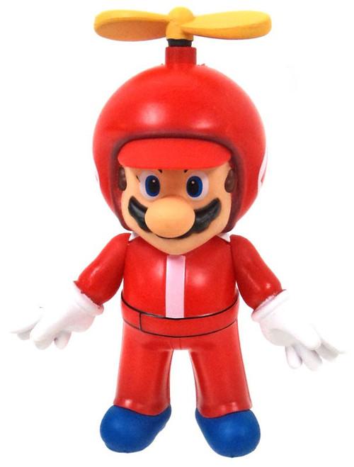 World of Nintendo Super Mario Propeller Mario 3-Inch Wind-Up Figure