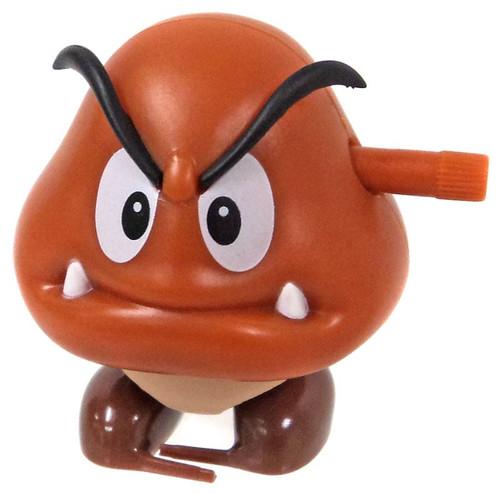 World of Nintendo Super Mario Goomba 2-Inch Wind-Up Figure