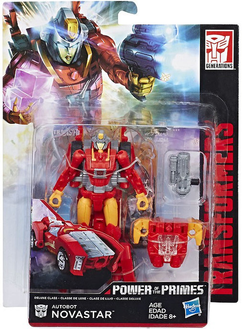 Transformers Generations Power of the Primes Autobot Novastar Deluxe Action Figure