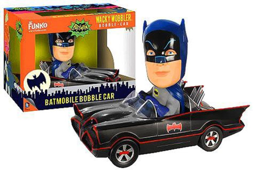 Funko Batman 1966 TV Series Wacky Wobbler Batmobile Bobble Car [Damaged Package]