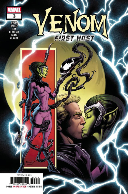 Marvel Venom First Host #3 of 5 Comic Book [First Sleeper]