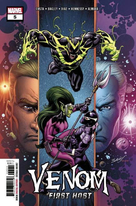 Marvel Venom First Host #5 of 5 Comic Book