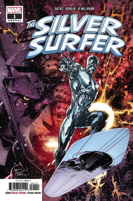 Marvel The Silver Surfer #1 Annual Comic Book