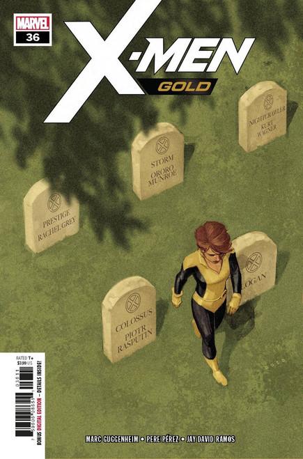 Marvel Comics X-Men Gold #36 Comic Book