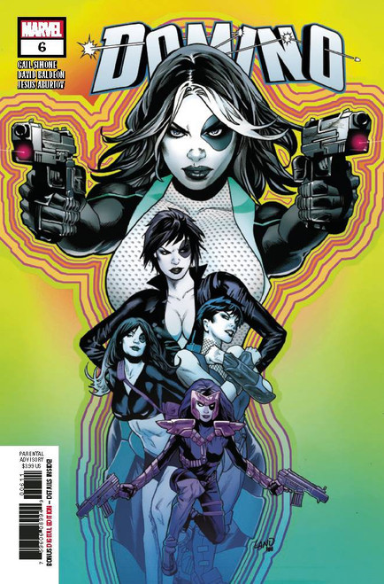Marvel Domino #6 Comic Book