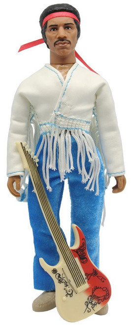Music Icons Jimi Hendrix Exclusive Action Figure