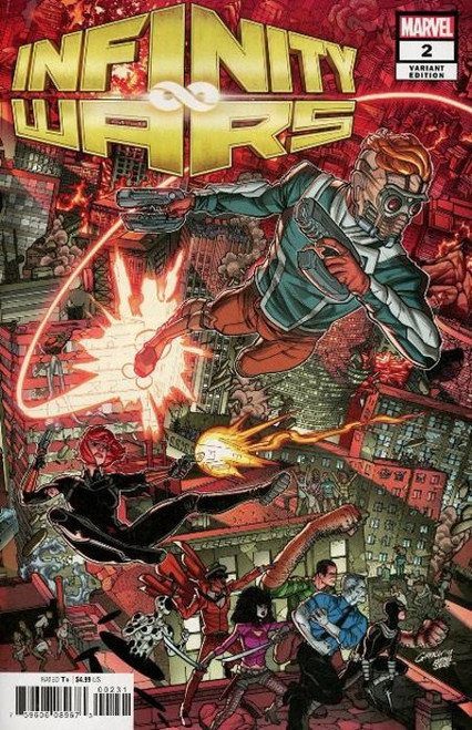 Marvel Infinity Wars #2 of 5 Comic Book [Connecting Cover Variant]