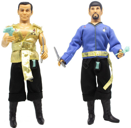 Star Trek TV Favorites Mirror Spock & Mirror Kirk Exclusive Action Figure 2-Pack