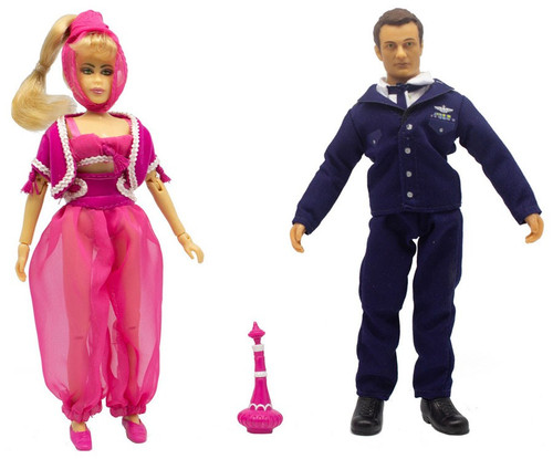I Dream of Jeannie TV Favorites Jeannie & Tony Exclusive Action Figure 2-Pack