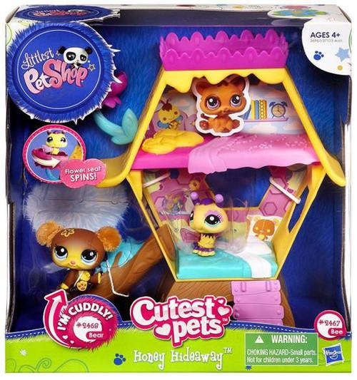 Littlest Pet Shop Honey Hideaway Playset [Bee & Bear]