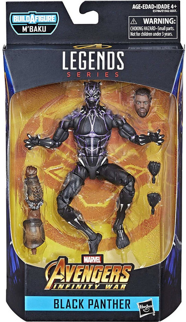 Marvel Legends M'Baku Series Black Panther Action Figure [Vibranium]