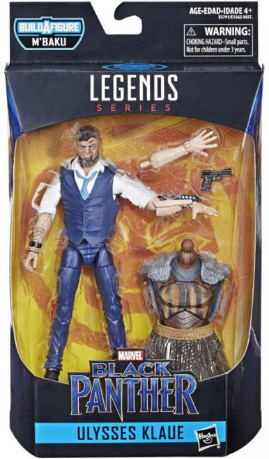 Black Panther Marvel Legends M'Baku Series Ulysses Klaue Action Figure