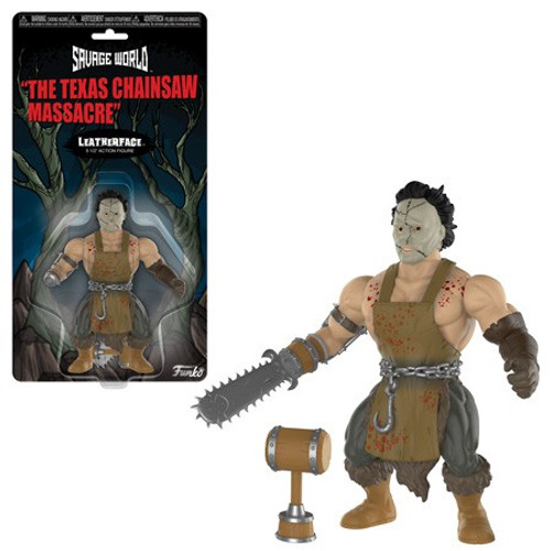 Funko Texas Chainsaw Massacre Savage World Leatherface Action Figure