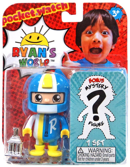 Ryan's World Autocross Ryan & Mystery Action Figure 2-Pack