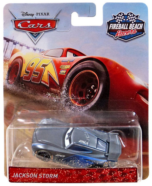 Disney / Pixar Cars Cars 3 Fireball Beach Racers Jackson Storm Diecast Car