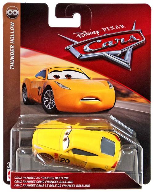 Disney / Pixar Cars Cars 3 Thunder Hollow Cruz Ramirez as Frances Beltline Diecast Car