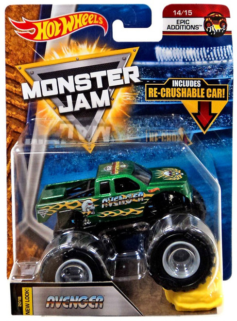 Hot Wheels Monster Jam Avenger Die-Cast Car #14/15 [Epic Additions]