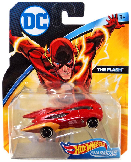 Hot Wheels DC Character Cars The Flash Die-Cast Car