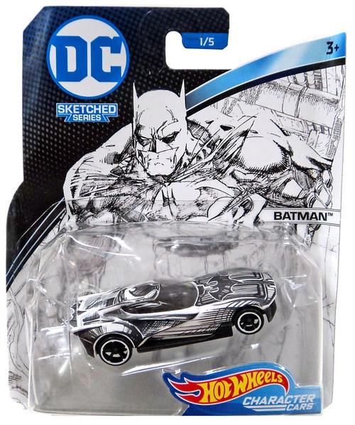 Hot Wheels DC Character Cars Stretched Series Batman Diecast Car