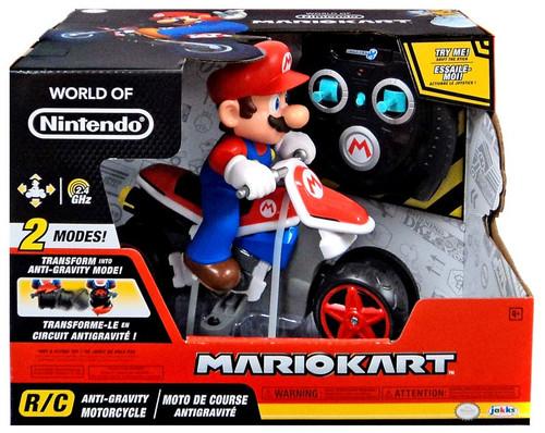 World of Nintendo Mario Kart Anti-Gravity Motorcycle R/C Vehicle